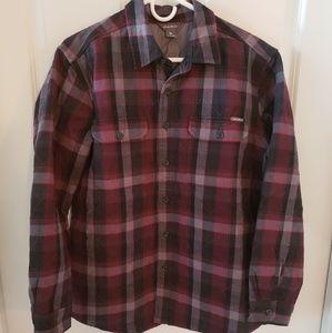 Eddie Bauer Flannel Shirt Jacket